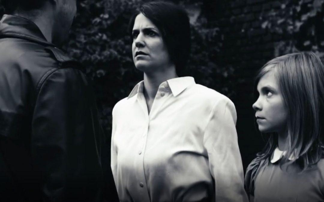 Lina mit Rolle im Kurzfilm