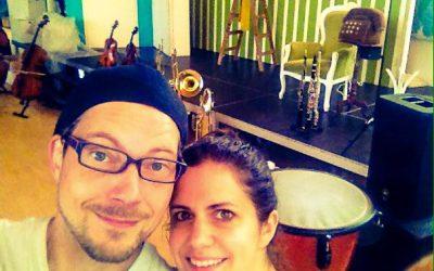 Mona und Kris gemeinsam auf Tour