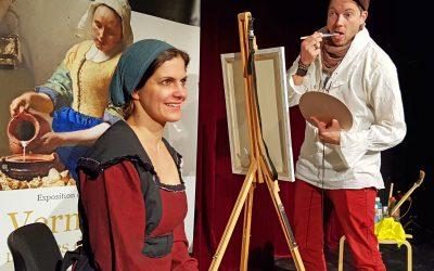 """Mona & Kris spielen Zweierkomödie """"Mach's noch einmal, Mona Lisa!"""""""