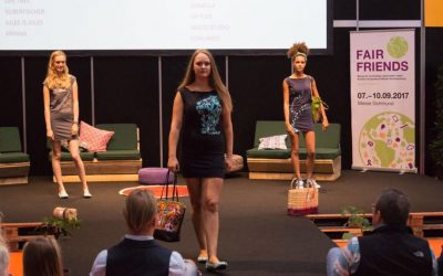 Stagefreaks bei der Fair Friends Fashion Show