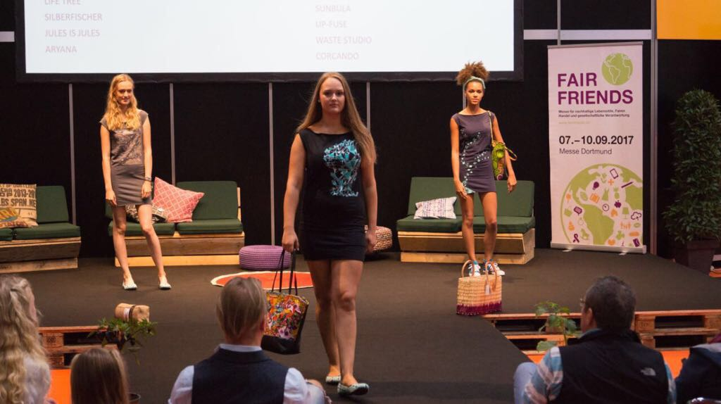 Stagefreaks bei der Fair Friends Fashion Show